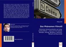 Buchcover von Das Phänomen Filmstil