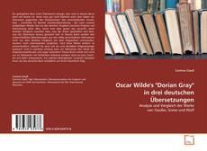 """Обложка Oscar Wilde's """"Dorian Gray"""" in drei deutschen Übersetzungen"""