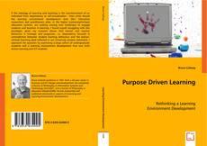 Capa do livro de Purpose Driven Learning