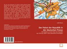 Capa do livro de Der Palast der Republik in der deutschen Presse