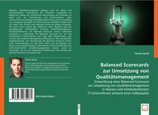 Buchcover von Balanced Scorecards zur Umsetzung von Qualitätsmanagement