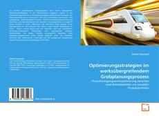 Buchcover von Optimierungsstrategien im werksübergreifendem Grobplanungsprozess