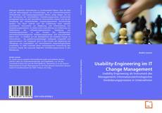Bookcover of Usability-Engineering im IT Change Management