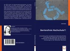 Barrierefreie Hochschule?!的封面