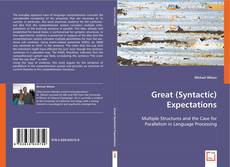Great (Syntactic) Expectations kitap kapağı