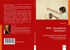 Capa do livro de ARTE - Europäische Tele-Kultur ?