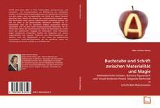 Buchcover von Buchstabe und Schrift zwischen Materialität und Magie