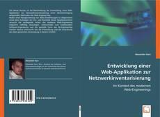 Couverture de Entwicklung einer Web-Applikation zur Netzwerkinventarisierung