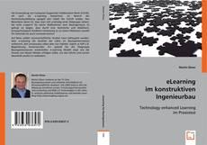 Buchcover von eLearning im konstruktiven Ingenieurbau
