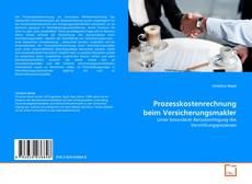 Copertina di Prozesskostenrechnung beim Versicherungsmakler