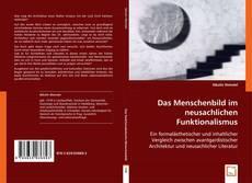 Buchcover von Das Menschenbild im neusachlichen Funktionalismus