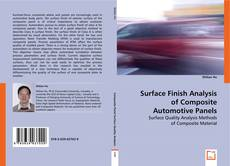 Bookcover of Surface Finish Analysis of Composite Automotive Panels