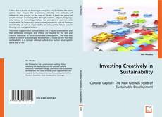 Investing Creatively in Sustainability的封面