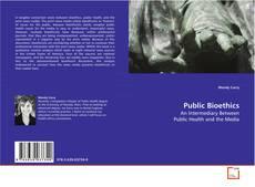 Обложка Public Bioethics