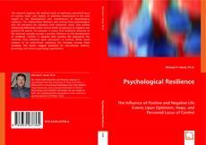 Couverture de Psychological Resilience