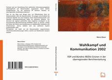 Wahlkampf und Kommunikation 2002 kitap kapağı