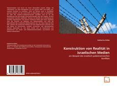 Capa do livro de Konstruktion von Realität in israelischen Medien