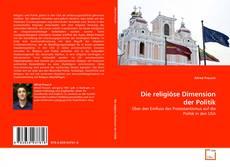 Die religiöse Dimension der Politik kitap kapağı