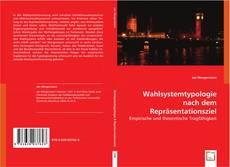 Copertina di Wahlsystemtypologie nach dem Repräsentationsziel
