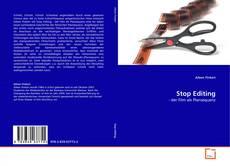 Buchcover von Stop Editing