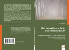 Bookcover of Das Umwelterlebnis im unsichtbaren Raum