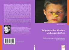 Buchcover von Adipositas bei Kindern und Jugendlichen