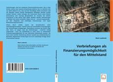 Capa do livro de Verbriefungen als Finanzierungsmöglichkeit für den Mittelstand