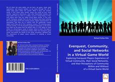 Bookcover of Everquest, Community, and Social Networks in a Virtual Game World