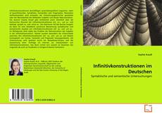 Capa do livro de Infinitivkonstruktionen im Deutschen