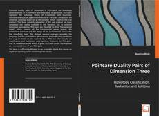 Portada del libro de Poincaré Duality Pairs of Dimension Three