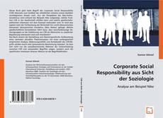 Portada del libro de Corporate Social Responsibility aus Sicht der Soziologie