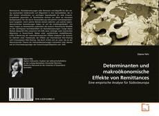Buchcover von Determinanten und makroökonomische Effekte von Remittances