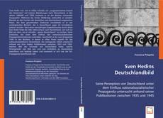 Buchcover von Sven Hedins Deutschlandbild