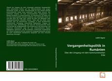 Buchcover von Vergangenheitspolitik in Rumänien
