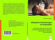 Portada del libro de Allergische Erkrankungen im Kindesalter