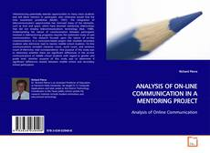 Couverture de ANALYSIS OF ON-LINE COMMUNICATION IN A MENTORING PROJECT