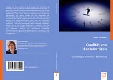 Bookcover of Qualität von Theaterkritiken