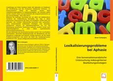 Buchcover von Lexikalisierungsprobleme bei Aphasie