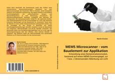 MEMS Microscanner - vom Bauelement zur Applikation kitap kapağı