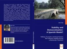Couverture de Stability and Democratization: A Spanish Model?