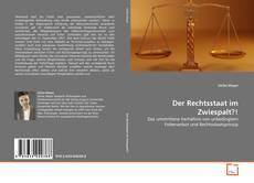 Bookcover of Der Rechtsstaat im Zwiespalt?!