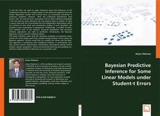 Borítókép a  Bayesian Predictive Inference for Some Linear Models under Student-t Errors - hoz