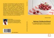 Bookcover of Heimat Ostdeutschland