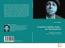 Capa do livro de Emotionen, Gefühle, Kultur - ein Theorieentwurf