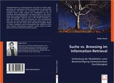 Suche vs. Browsing im Information-Retrieval的封面