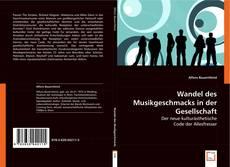 Copertina di Wandel des Musikgeschmacks in der Gesellschaft
