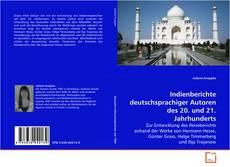 Обложка Indienberichte deutschsprachiger Autoren des 20. und 21. Jahrhunderts