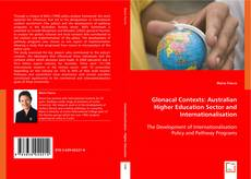 Couverture de Glonacal Contexts: Australian Higher Education Sector and Internationalisation