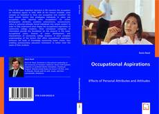 Bookcover of Occupational Aspirations