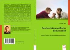 Buchcover von Geschlechterspezifische Sozialisation